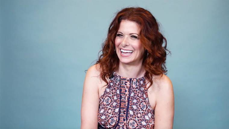 debra messing on her curly red hair sexism in hollywood and will