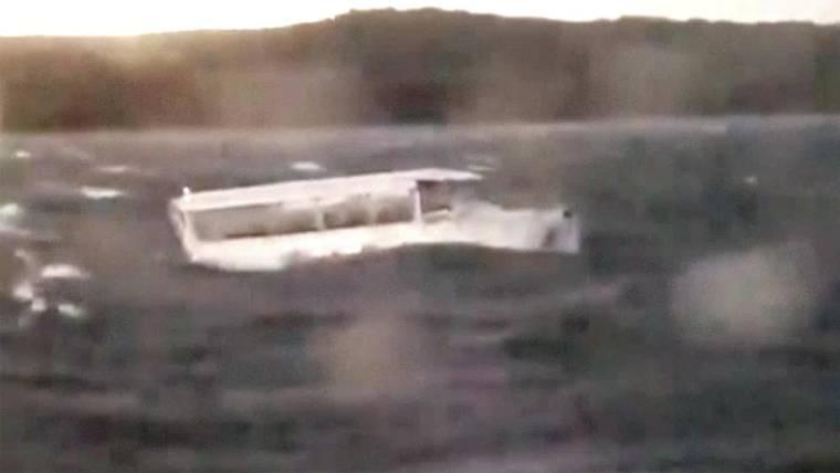 Duck boat capsizes near Branson, Missouri; at least 17 killed