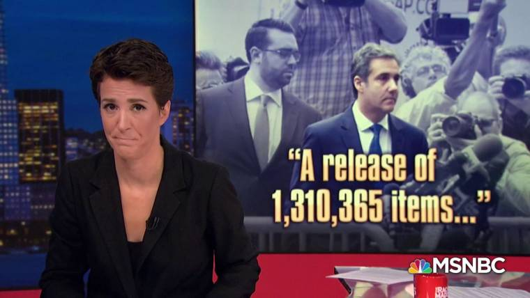 Image result for rachel maddow michael cohen