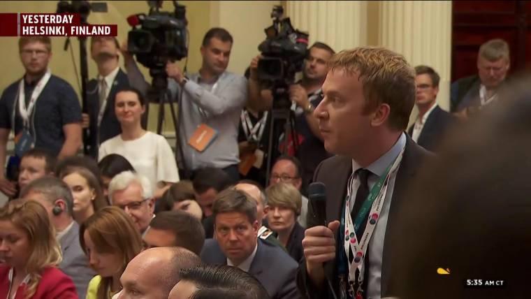 Reporters Lemire, Mason describe Helsinki moment