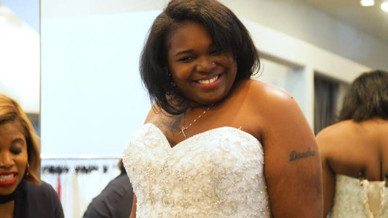 Wedding dress shop offers plus-size women a place of their own