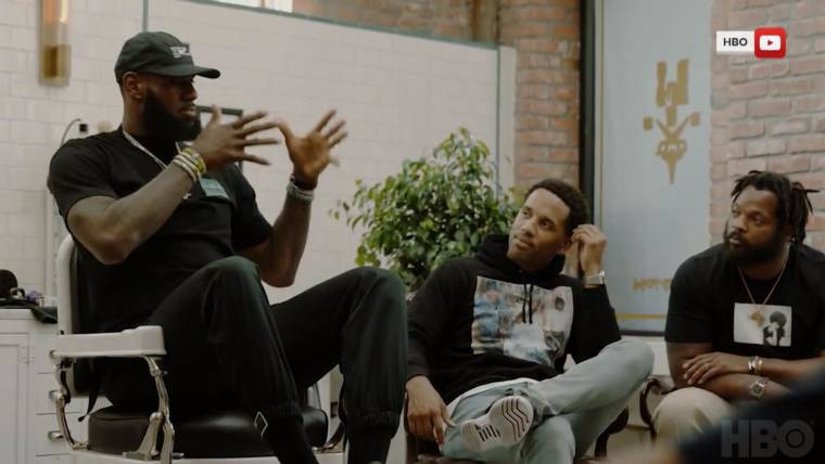 b585e4f16c70 LeBron James and HBO partner for unscripted series