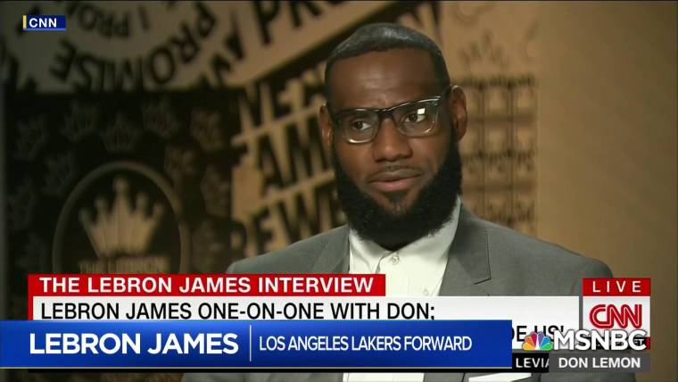 73931016e422 LeBron James says Trump is  using sports to divide us