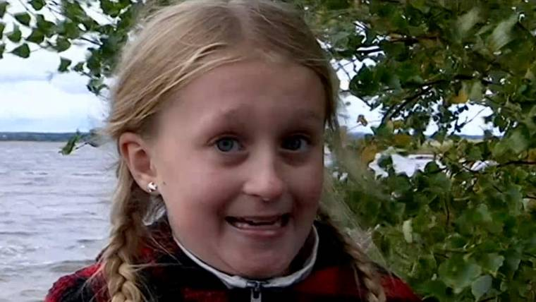 Swedish girl, 8, pulls 1,500-year-old sword from lake in Sweden