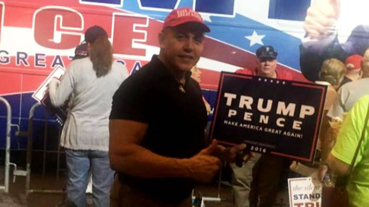 Image result for the florida bomber at rally