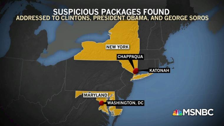 CNN's New York office receives suspicious package similar ...