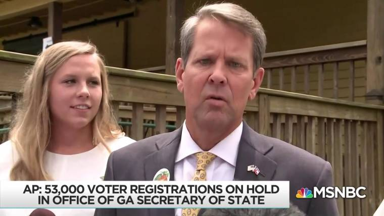 Justice Department Sues Georgia Over >> Georgia Sued For Placing Thousands Of Voter Registrations On Hold