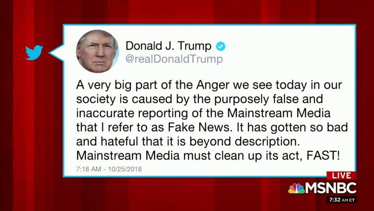 e3d0674bf1003a Trump tweets media  must clean up its act