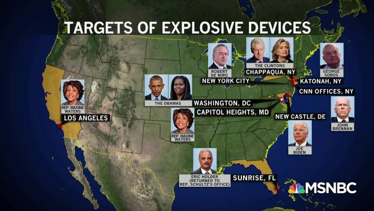 Image result for targets of ten pipe bombs