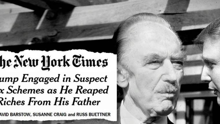 'Outright Fraud:' Bombshell NYT investigation obliterates Trump's 'self-made' myth