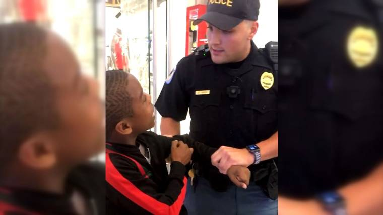 Child rapper arrested at Georgia mall after tussle with officer caught on video