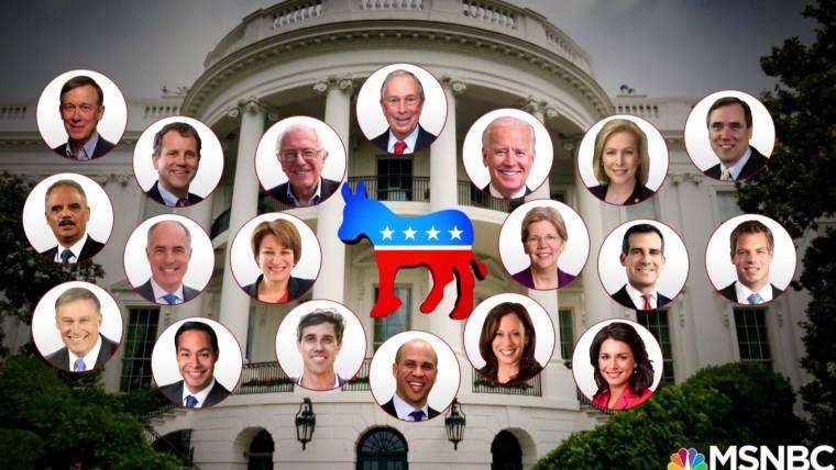 Image result for democrats president 2020