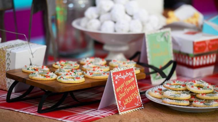 Martha Stewart S Cookie Swap Recipes Christmas Trees And Shortbread
