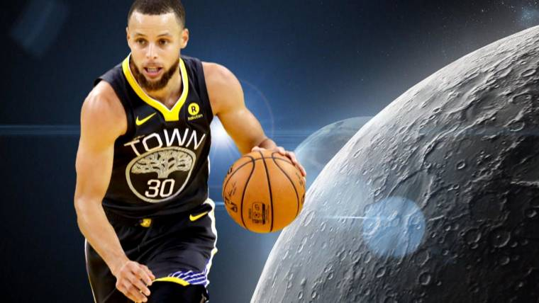 5db86228f077 Steph Curry says he doubts moon landing
