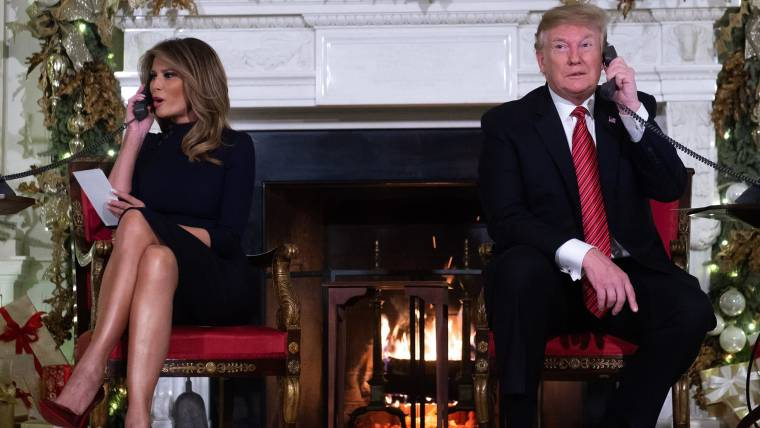Trump Christmas.Do You Still Believe In Santa Trump S Approach To A
