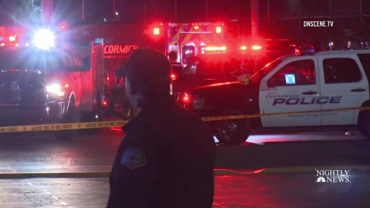 Three Dead Several Injured In Shooting At Torrance California