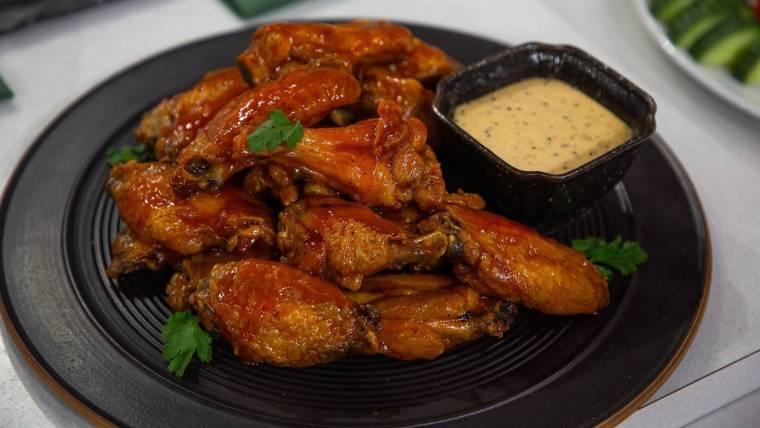 Football Finger Foods Matt Abdoos Baked Chicken Wings And Baby