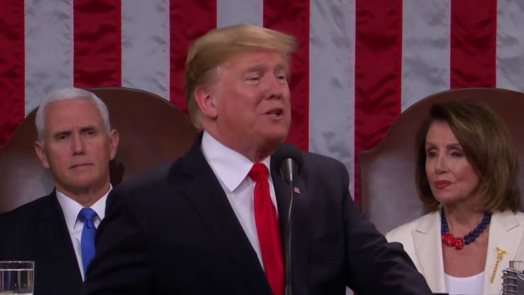Trump Expected To Order Study Of >> State Of The Union Fact Check What S True And False In Trump S Address