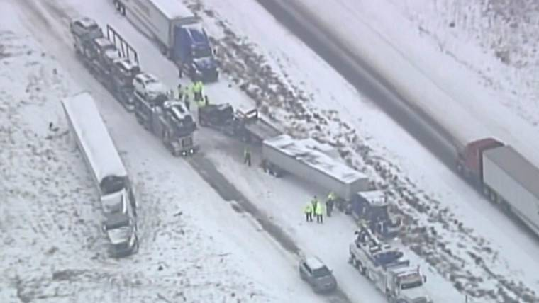 47 Car Pileup In Missouri Leaves At Least 1 Dead