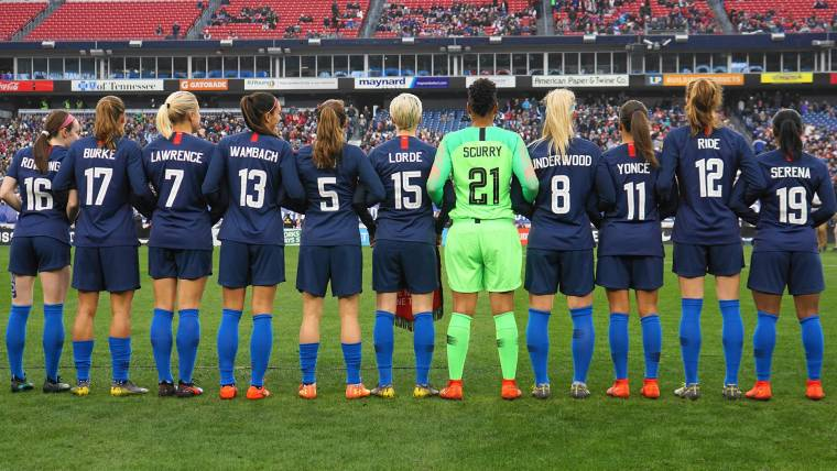 b0172fa4ed6 U.S. women s soccer team files gender discrimination suit against its own  federation