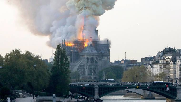 Cornell student recounts Notre Dame Cathedral fire