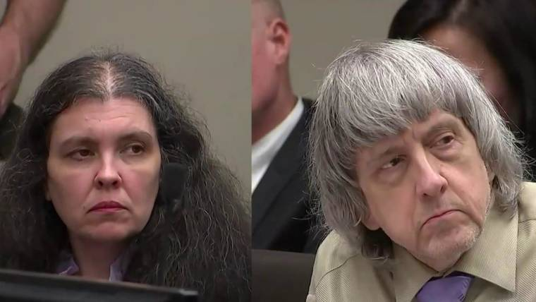 House Of Horrors Case Turpin Parents Sentenced To Life In Prison