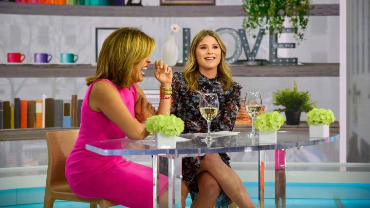 881de479129d Jenna Bush Hager makes her debut as co-host of TODAY with Hoda & Jenna