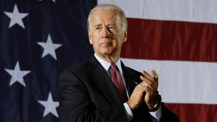 Im Not Arguing Battle Over My Office >> Biden Launches 2020 Presidential Bid Says We Are In A Battle For