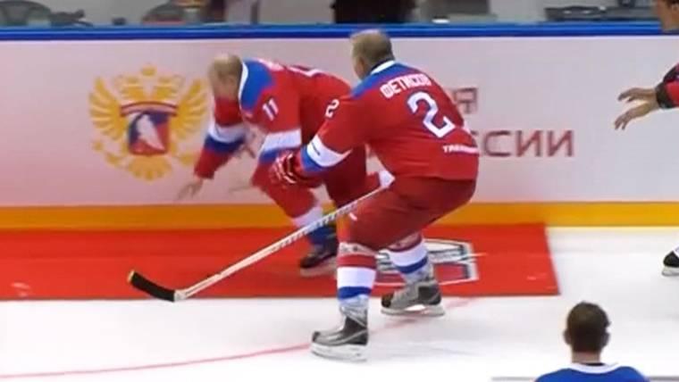Image result for putin hockey