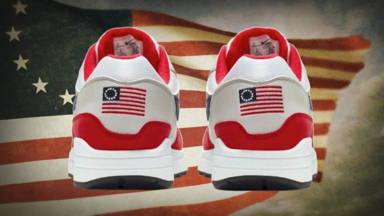 Nike Pulls Betsy Ross Flag Sneakers After Colin Kaepernick