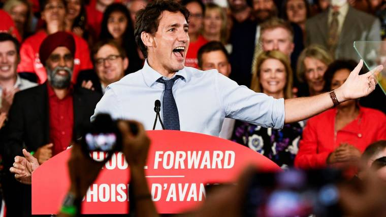 Canada's Trudeau, in election fight, says he needs voter ...