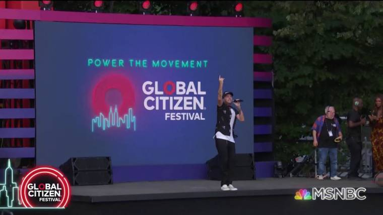 Global Citizen Festival 2020 Nyc.Thousands Attend Global Citizen Festival In Central Park