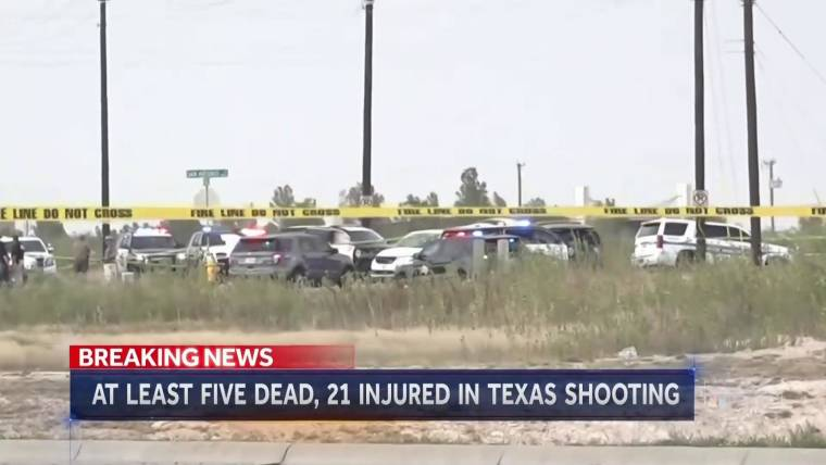 Midland Texas News >> At Least 5 People Dead 21 Injured In Shootings In Odessa And Midland Texas