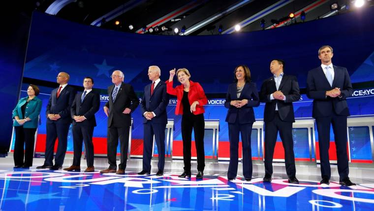 Image result for democratic debate houston
