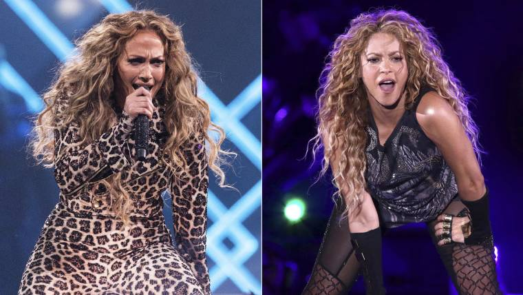 Pro Bowl Halftime Show 2020.Jennifer Lopez Shakira To Headline 2020 Super Bowl Halftime