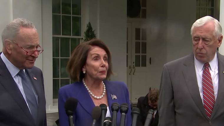 Democrats Angrily Walk Out Of White House Meeting After