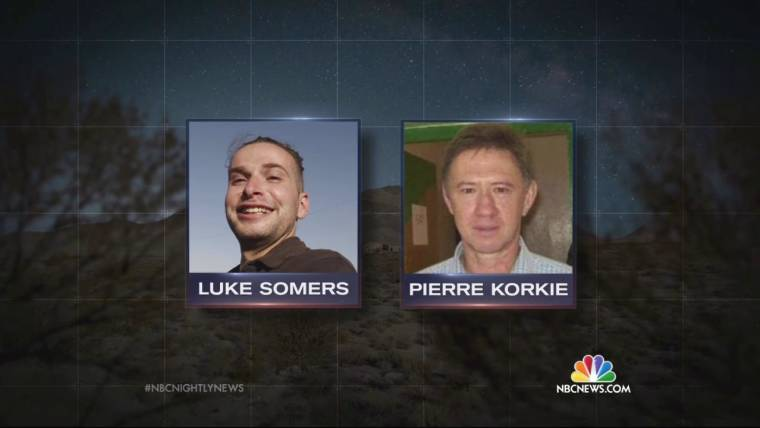 American Hostage Luke Somers' Body Back on U.S. Soil