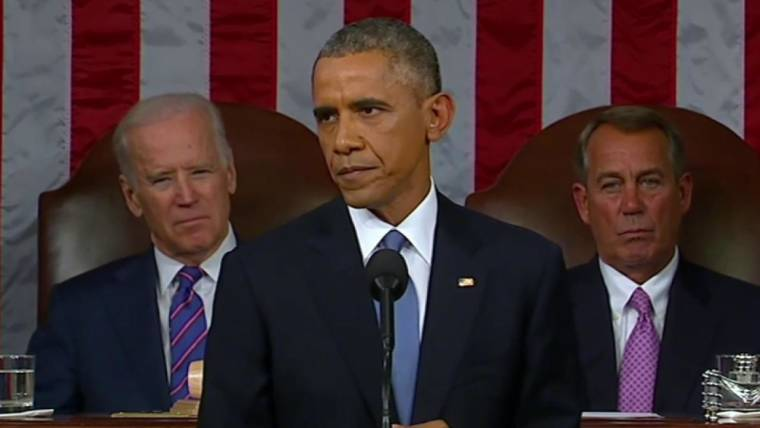 Obama's State of the Union Message: 'Tonight, We Turn The Page'
