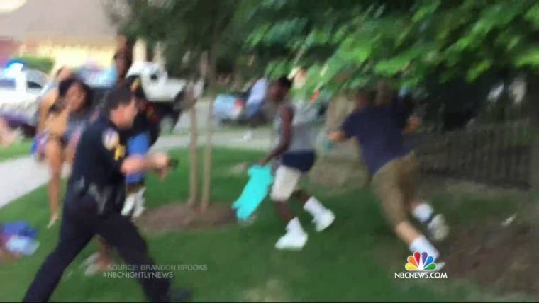 McKinney, Texas, Cop Who Pulled Gun at Pool Party Meets With Investigators