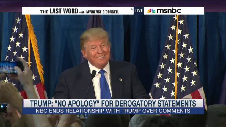 Image result for trump no apology