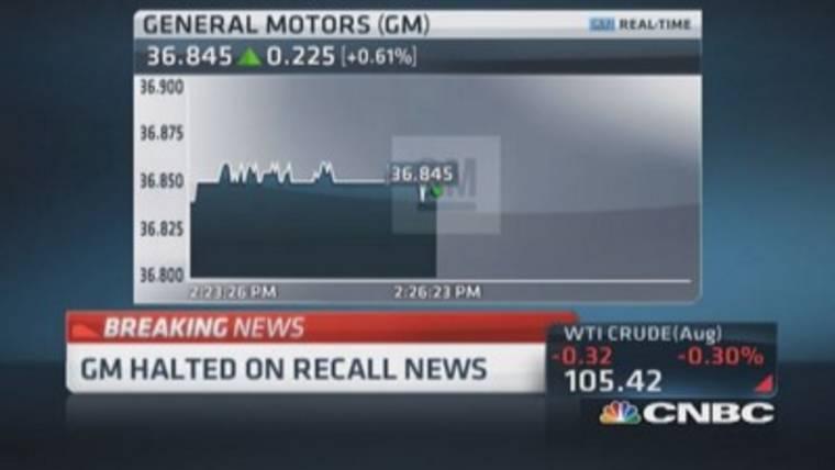 GM recalls 8.4 million cars in 6 new recalls