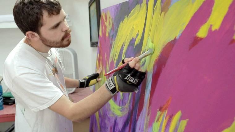 Autism Art Painting A Better World
