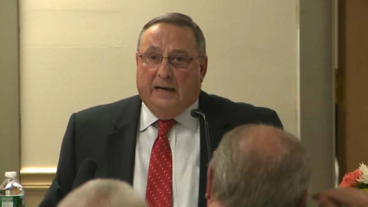 Maine Gov. Paul LePage Calls for Use of Guillotine for Drug Traffickers