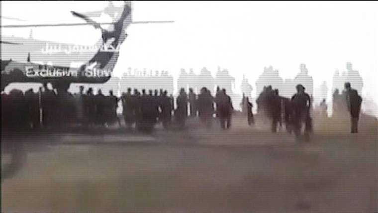 Video Appears to Show Humanitarian Supply Delivery