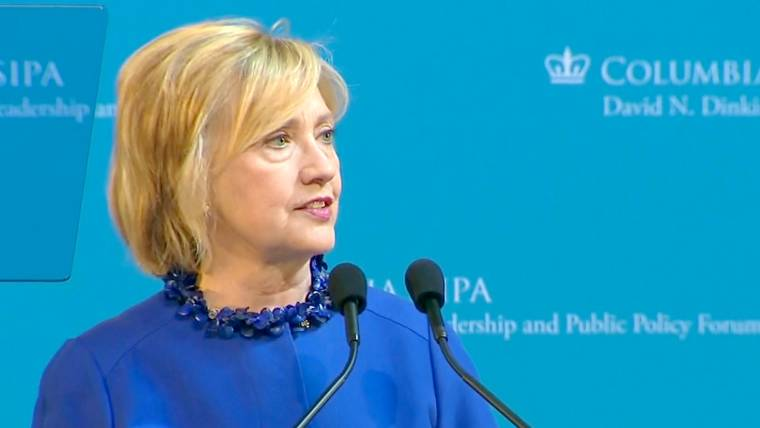 Hillary Clinton Calls For Criminal Justice Reforms, End to 'Mass Incarceration'