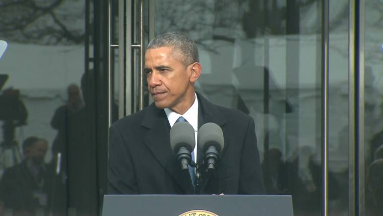 Obama Urges Congress to Follow Ted Kennedy's Example