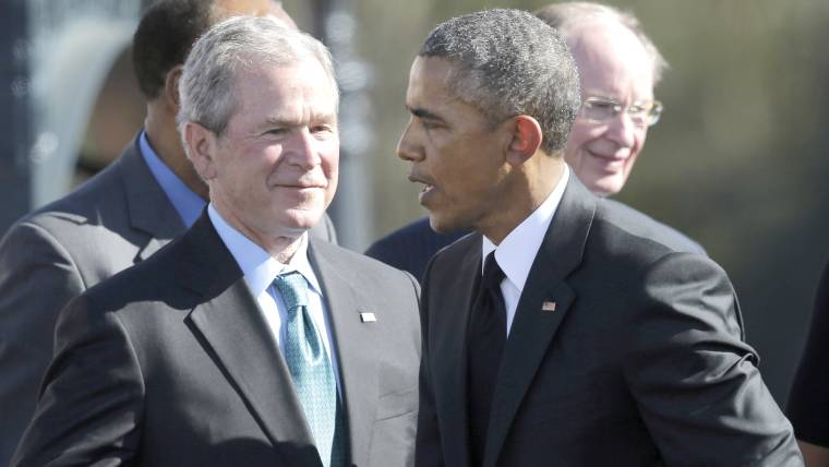White House Responds to Apparent Criticism By Former President Bush