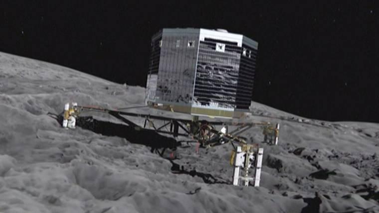 Philae Comet Lander Phones Home After Two Weeks of Silence