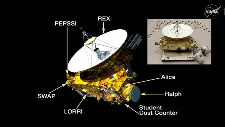 New Horizons' Pluto Pictures Reveal Surface Details -- and a Polar Cap?