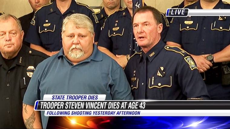 Steven Vincent, Louisiana State Trooper, Dies After Being Shot in the Head